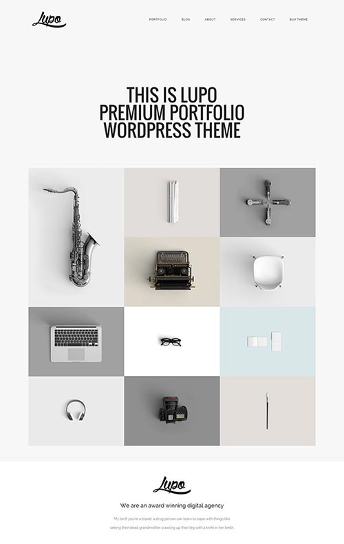 Portfolio WordPress Themes 2016