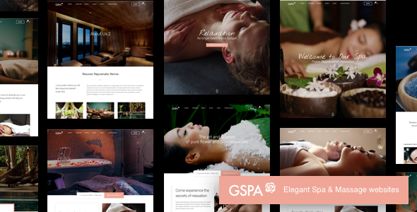 Spa & Massage Salon WordPress Themes 2018